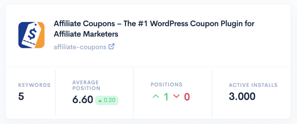 Affiliate Coupons WP SEO