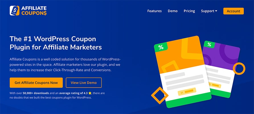 Affiliate Coupons Website 2020